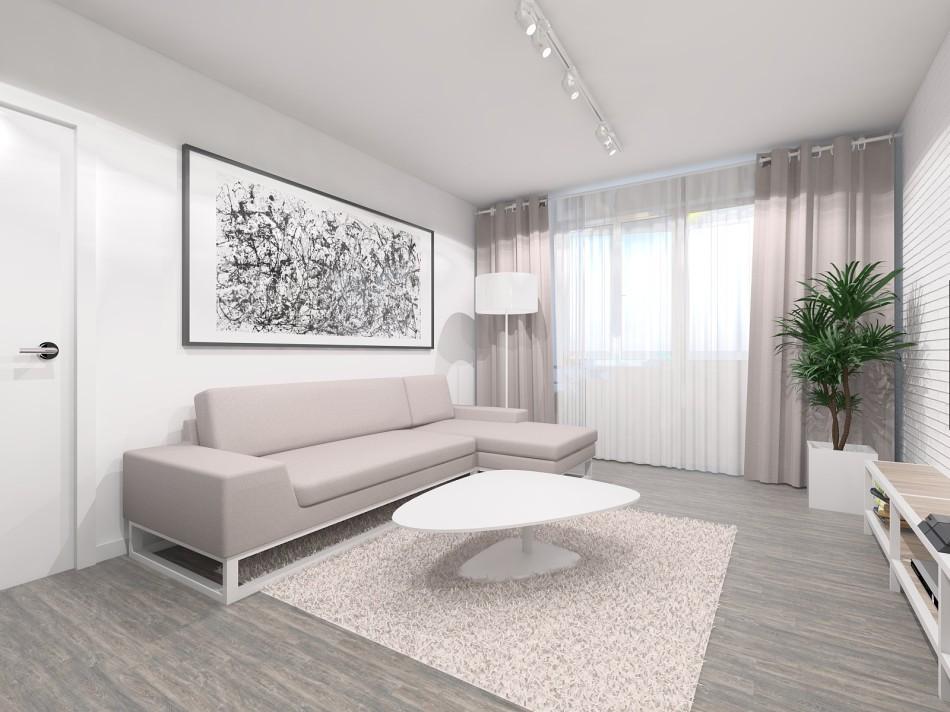 Дизайн квартиры двухкомнатной п44т