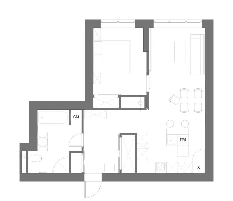 55 полезных советов по ремонту квартиры - рекомендации по расстановке мебели от архитектурного бюро HCProject в Москве